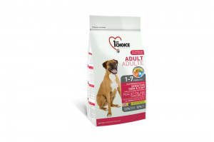 1ST CHOICE ADULT ALL BREEDS SENSITIVE SKIN & COAT 2,72kg