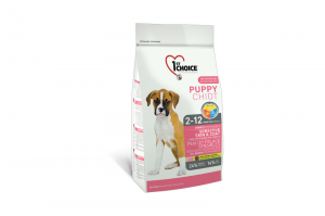 1ST CHOICE PUPPY ALL BREEDS SENSITIVE SKIN & COAT 2x14kg