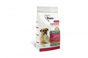 1ST CHOICE SENIOR ALL BREEDS SENSITIVE SKIN & COAT 2,72kg