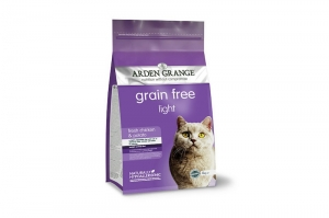 ARDEN GRANGE KARMA DLA KOTA GRAIN FREE LIGHT CHICKEN 4kg