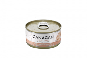 CANAGAN CAT WET CHICKEN WITH CRAB 12x75g