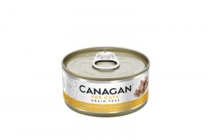 CANAGAN CAT WET TUNA WITH CHICKEN 12x75g