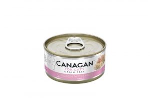 CANAGAN CAT WET CHICKEN WITH HAM 12x75g