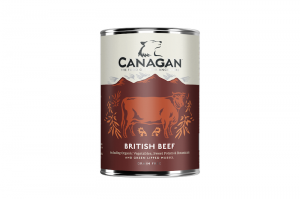 CANAGAN DOG WET BRITISH BEEF 400g