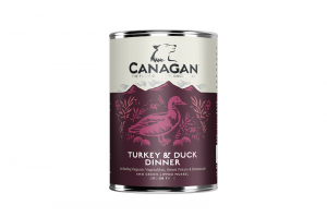 CANAGAN DOG WET TURKEY & DUCK 6x400g