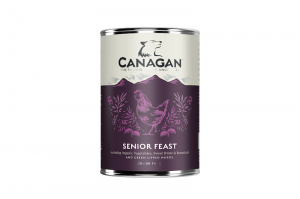 CANAGAN DOG WET SENIOR FEAST 400g