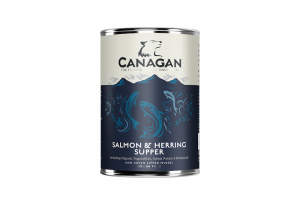 CANAGAN DOG WET SALMON & HERRING 400g