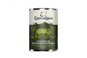 CANAGAN DOG WET CHICKEN & WILD BOAR 6x400g