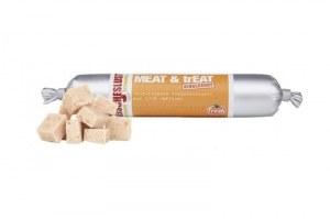 MEAT LOVE MEAT & TREAT POULTRY 80G