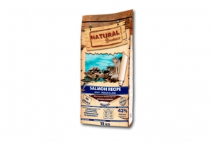 NATURAL GREATNESS DOG SALMON RECIPE MEDIUM & LARGE 2x12kg