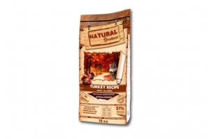 NATURAL GREATNESS DOG TURKEY RECIPE 2kg
