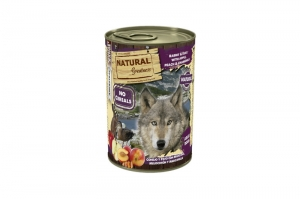 NATURAL GREATNESS DOG WET COMPLET RABBIT & DUCK 6x400g