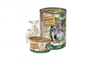 NATURAL GREATNESS DOG WET MONOPROTEIN LAMB 6x400g
