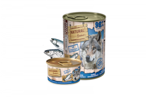 NATURAL GREATNESS DOG WET MONOPROTEIN SALMON 6x400g