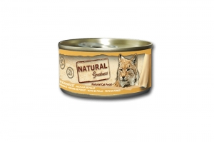 NATURAL GREATNESS CAT WET CLASSIC CHICKEN BREAST 24x70g