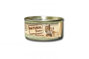 NATURAL GREATNESS CAT WET CLASSIC KITTEN CHICKEN BREAST 24x70g