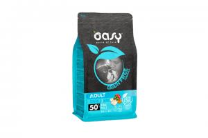 OASY GRAIN FREE ADULT SMALL MINI Z RYBĄ KARMA DLA PSA 2,5kg
