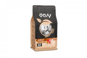 OASY GRAIN FREE ADULT MEDIUM LARGE Z JAGNIĘCINĄ KARMA DLA PSA 2,5kg