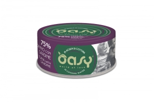 OASY MORE LOVE CAT TUŃCZYK Z SARDYNKĄ 70g