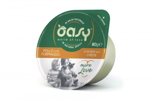 OASY MORE LOVE GREEN CUP CAT KURCZAK Z SEREM 80g