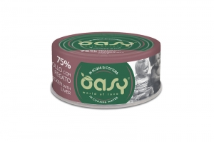 OASY MORE LOVE CAT KURCZAK Z WĄTRÓBKĄ 70g