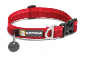 RUFFWEAR OBROŻA HOOPIE COLLAR RED CURRANT