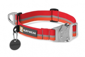 RUFFWEAR OBROŻA TOP ROPE COLLAR KOKANEE RED