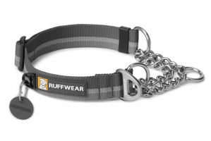 RUFFWEAR OBROŻA CHAIN REACTION COLLAR TWILIGHT GRAY
