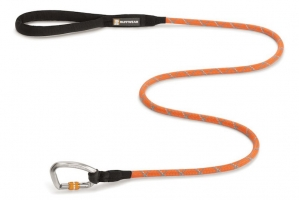 RUFFWEAR SMYCZ KNOT A LEASH PUMPKIN ORANGE