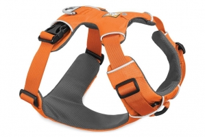 RUFFWEAR SZELKI FRONT RANGE HARNESS ORANGE POPPY