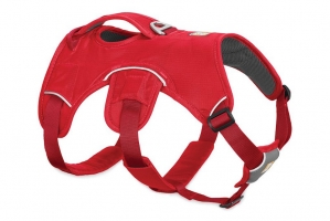 RUFFWEAR SZELKI WEB MASTER HARNESS RED CURRANT