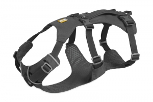 RUFFWEAR SZELKI FLAGLINE HARNESS GRANITE GRAY