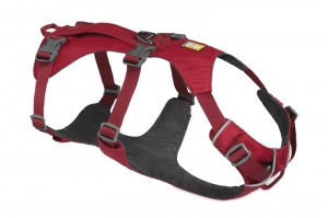 RUFFWEAR SZELKI FLAGLINE HARNESS RED ROCK