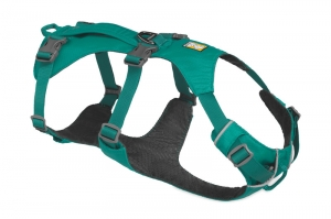 RUFFWEAR SZELKI FLAGLINE HARNESS MELTWATER TEAL