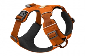 RUFFWEAR SZELKI FRONT RANGE HARNESS CAMPFIRE ORANGE NEW