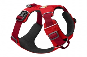 RUFFWEAR SZELKI FRONT RANGE HARNESS RED SUMAC NEW
