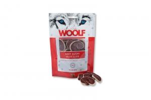 WOOLF PRZYSMAKI BEEF SUSHI WITH COD 100g
